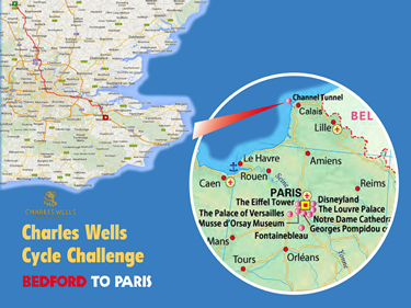 The Charles Wells Cycle Challenge 2015