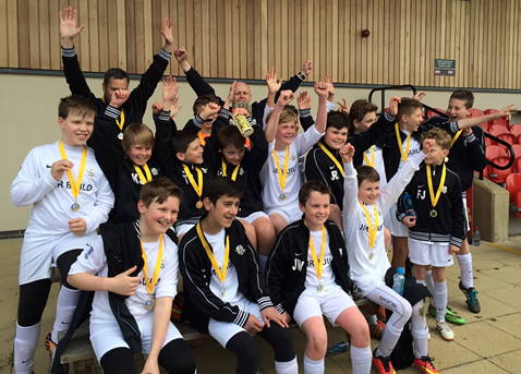 AFC Lightning U12s, Yellow Division Cup Winners, April 2015